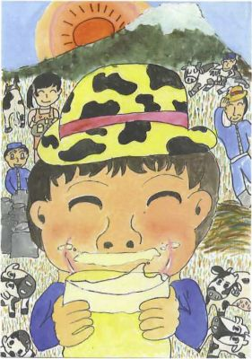 牛乳はおいしいよ!