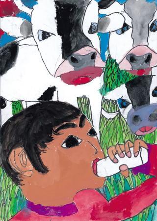 牛さんも牛乳のみたいの?