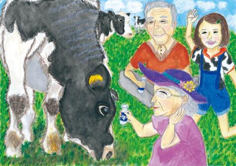 岩手県知事賞 牛がくれた みんなの笑顔