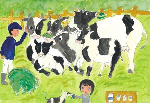 牛さん、大きくなってね!