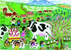 岩手県知事賞 生命のミルク、牛乳の恵みに感謝パーティー!