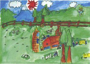 牛にゅう工場と牛