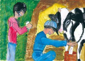 岩手の牛乳